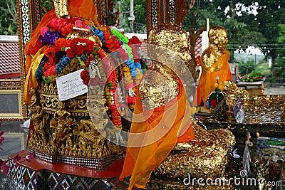 Buddha statues Editorial Stock Photo
