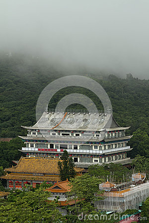 BUDDHA TEMPLE IN CHINA