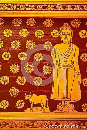 Buddha Thai Painting