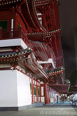Buddha Tooth Relic Temple in Singapore