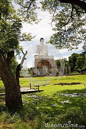 Buddha, Wat Ek Phnom, Cambodia