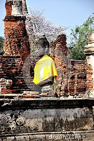 Buddha in Wat Phra Mahathat 1