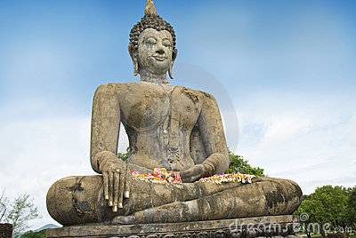 Buddha at World Heritage Site,Sukhothai