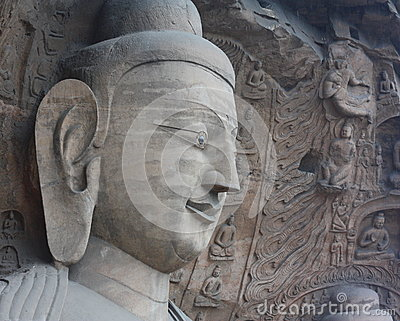 Buddha in YunGang Stone Cave