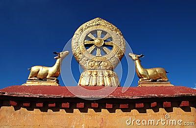 Buddhism Emblem