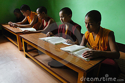 Buddhism in India Editorial Stock Photo