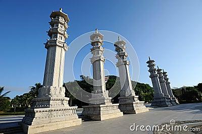 Buddhism park,Sanya nanshan cultural tourism zone