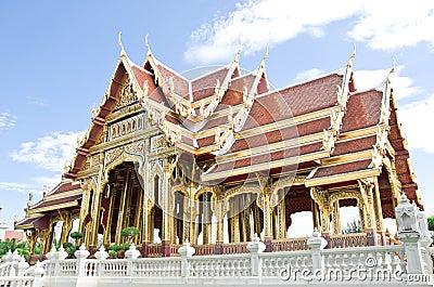 Buddhism pavilion in bangkok