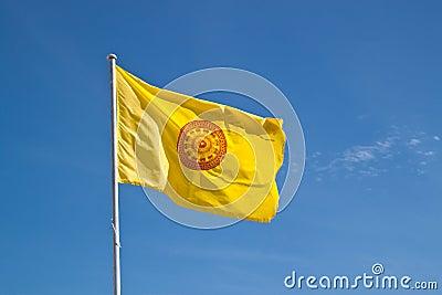 Buddhism Symbol Sway Flag