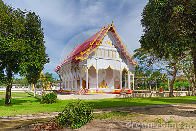 Buddhism temple in Thailand