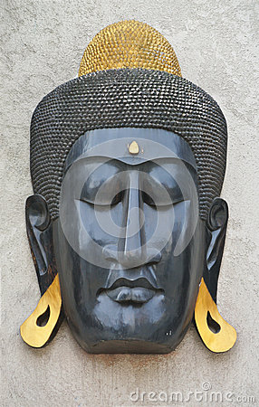 Buddhist craft mask