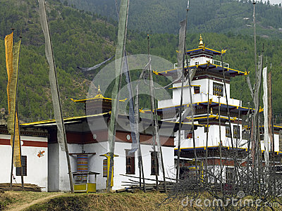 Buddhist Dzong - Thimphu - Bhutan
