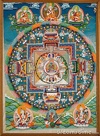Free Buddhist Fresco Royalty Free Stock Image - 31079296