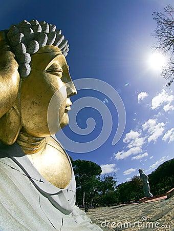 Buddhist Garden - Statue