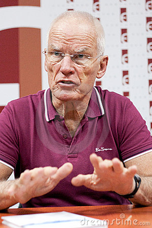 Buddhist Lama Ole Nydahl Editorial Stock Image