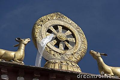 Buddhist Mandela - Drepung Monastery - Lhasa - Tibet