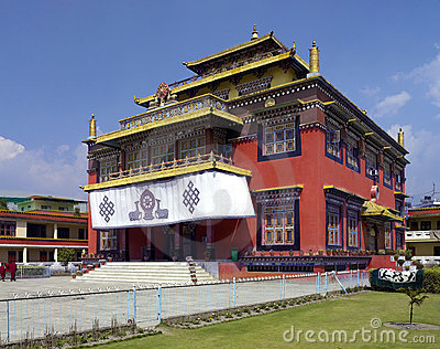 Buddhist Monastery - Kathmandu - Nepal