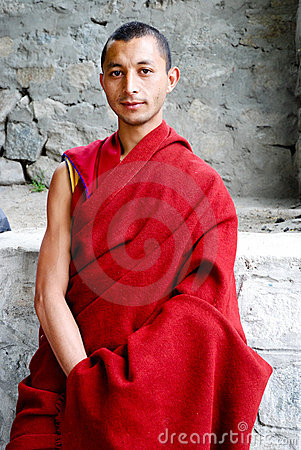 Buddhist monk Editorial Photography