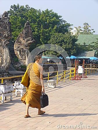 Buddhist monk Editorial Photo