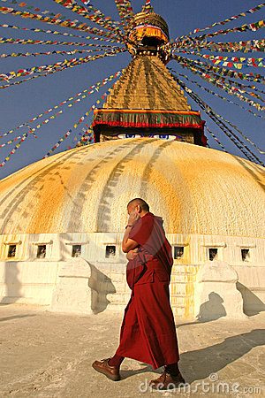 Free Buddhist Monk Royalty Free Stock Image - 2088996