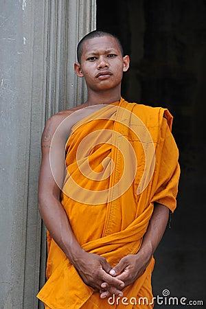 Buddhist Monk Editorial Image