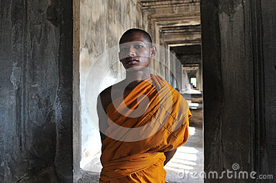 Buddhist Monk Editorial Stock Image
