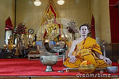 Buddhist monk Editorial Stock Photo