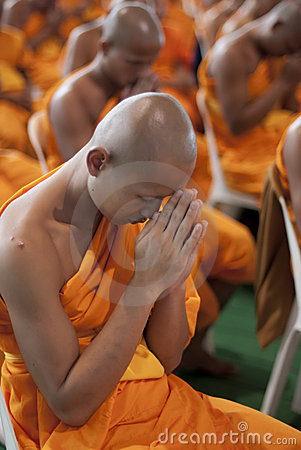 Buddhist Monk In Thailand Editorial Image