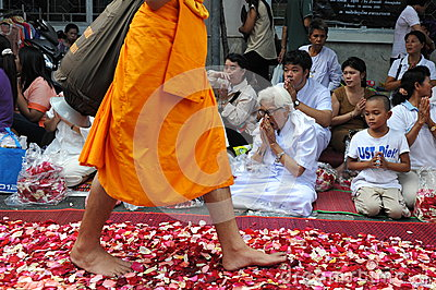 Buddhist Pilgrimage Editorial Photo