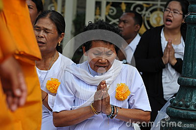 Buddhist Pilgrimage Editorial Stock Photo