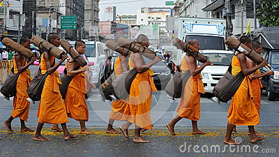 Buddhist Pilgrimage Editorial Photography