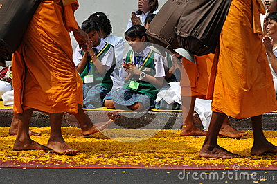 Buddhist Pilgrimage Editorial Photo