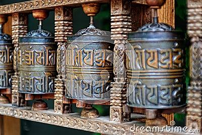 Buddhist Prayer Rolls