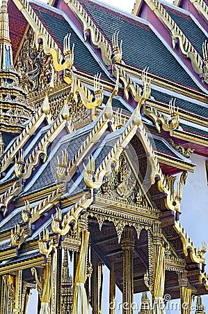 Buddhist roof