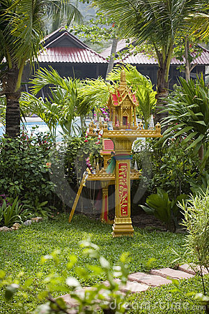 Buddhist spirit house