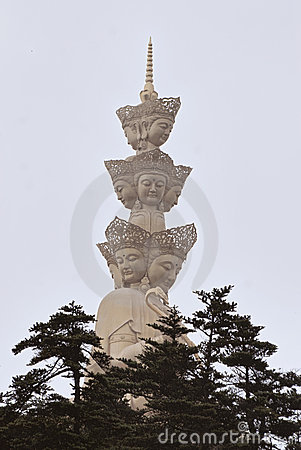 Buddhist Statue at Emai Shan, China