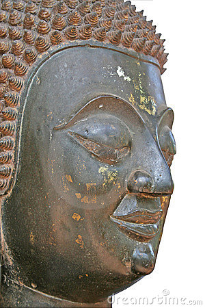 Free Buddhist Statue Head Royalty Free Stock Image - 2734366