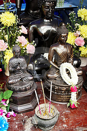 Buddhist statues from Thailand