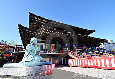 Buddhist temple  Editorial Stock Image