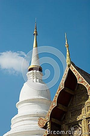 Buddhist temple, Chiang Mai, Thailand