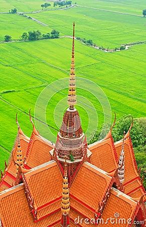 Buddhist temple in Kanchanaburi
