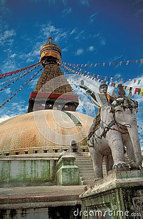 Free Buddhist Temple, Kathmandu Royalty Free Stock Photo - 4216405