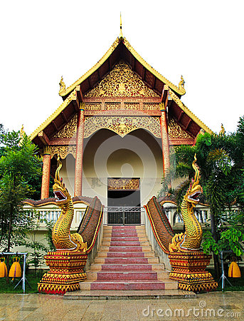 Buddhist temple named Wat Doi Ngam Muang