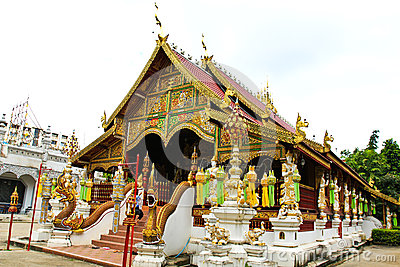 Buddhist temple named Wat Ming Muang
