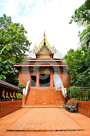 Buddhist temple named Wat Phra Kaew