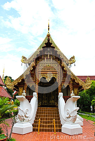 Buddhist temple named Wat Phra Singh