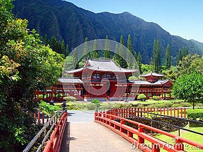 Buddhist Temple, Oahu, Hawaii