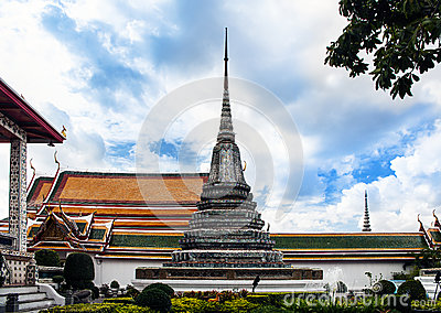 Buddhist temple - Wat Arun, Landmark and No. 1 tourist attractions in Thailand.