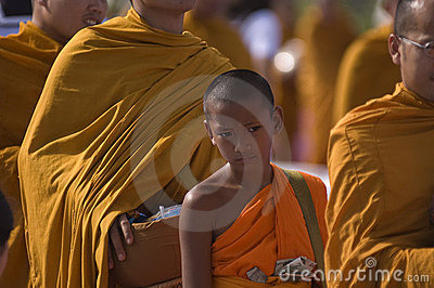 Buddhist Thai Monks Collections Editorial Stock Photo