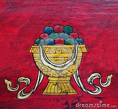 Buddhist Treasure Vase